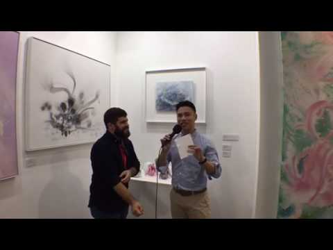 LIVE 0023: Interview with international artists of Geneyclee gallery at Affordable Art Fair in HK
