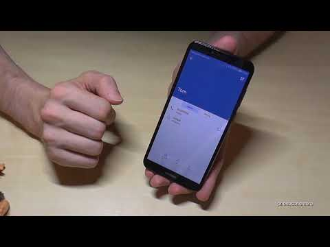 Huawei Y6 (2018): How to create and edit a contact? | adding contacts also with Y5/Y7/Y7 Prime/Y9