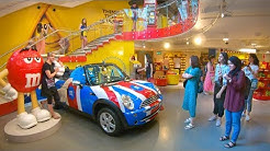 Inside M&M's World London - Tour of World's Largest Candy Store