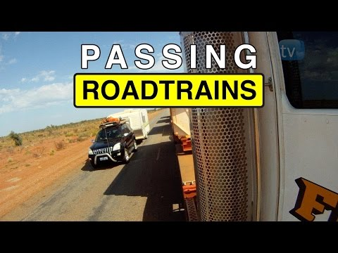 How To Over Take An Australian Road Train