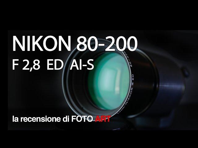 Nikon 80-200 f 2,8 AI-S ED tele zoom - test e recensione
