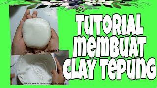 Cara Membuat Clay sendiri, mudah || Seni Kerajinan Tangan || Handmade