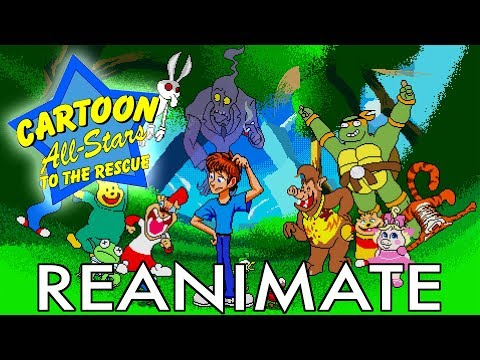 Cartoon All-Stars Reanimate!