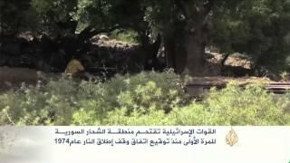 القوات الإسرائيلية تقتحم منطقة الشحار السورية