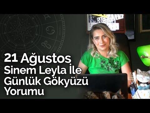 Sinem Leyla İle Günlük Gökyüzü Yorumu | 21 Ağustos 2019 | Billur Tv