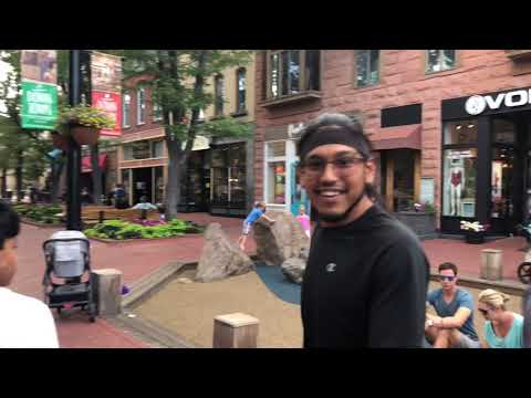 Boulder Colorado Pearl Street Mall Visit Part 2