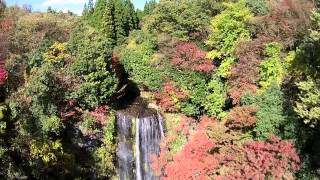 熊本県阿蘇郡小国町遊水峡カッパ滝.