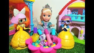 ЛОЛ ПРИНЦЕССЫ ДИСНЕЯ. ЭЛЬЗА ЗАКОЛДОВАЛА КУКОЛ ЛОЛ. Мультики куклы ЛОЛ видео для девочек