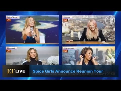 Spice Girls Announce Their Reunion Tour Without Posh