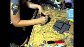 Gambar cover ME 3 Hahne Kedar armor build: Knee Pads