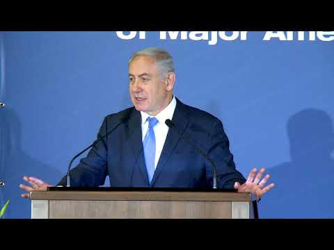 PM Netanyahu's Remarks at the Conference of the Presidents of Major Jewish Organizations.
