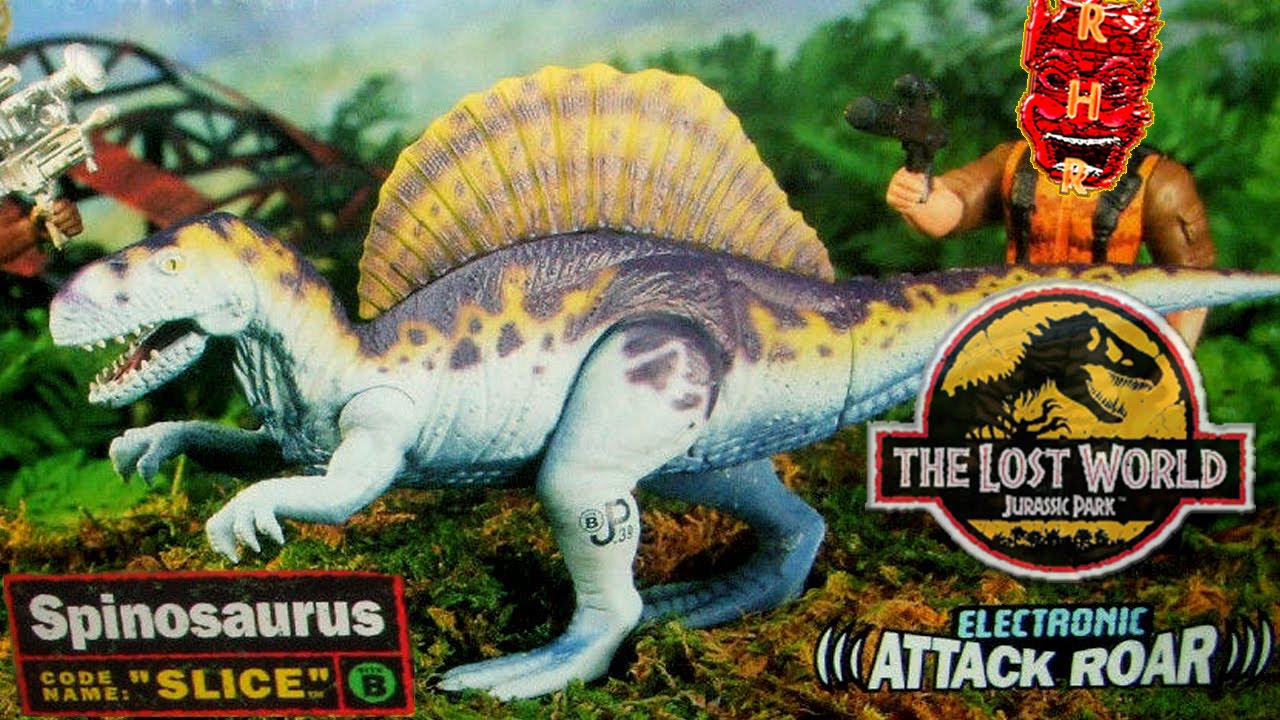 Jurassic Park Toys Tlw Series 1 Electronic Spinosaurus