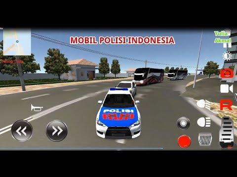 Mobil polisi anak kecil | Simulasi Mobil Patroli Polisi Sedang Mengejar Penjahat