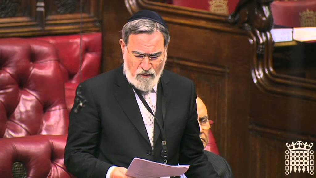 Chief Rabbi Lord Sacks on the role of religion in society