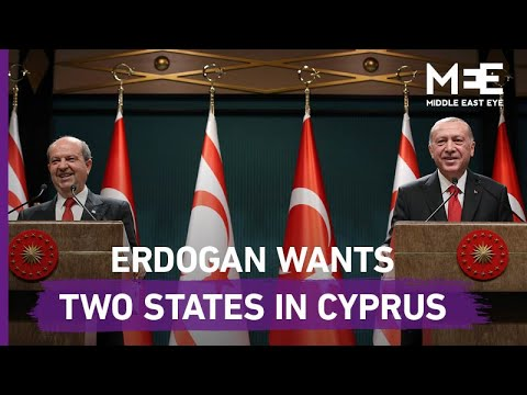 Turkey's Erdogan Says Two-state Solution Is The Only Option For Cyprus