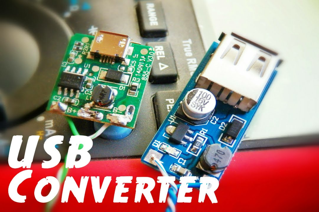 0951ff95dcd Easy Power Bank using DC to DC Step-up Boost Converter - YouTube