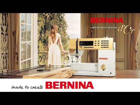 BERNINA feiert goldene Momente seit 1893 mit einer limitierten Gold Edition