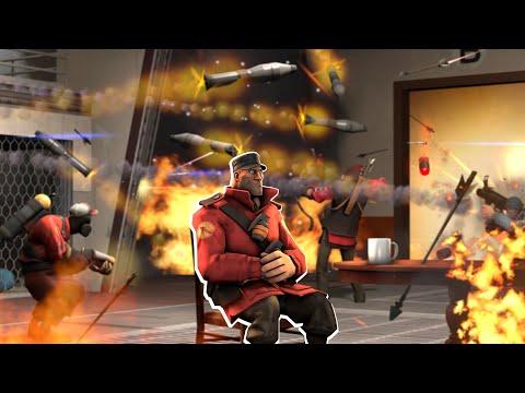 Team Fortress 2, Но Все Снаряды Отскакивают от Стен!