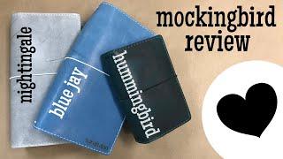 MOCKINGBIRD | Chic Sparrow Traveler's Notebook Review