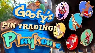Disney Pin Trading - Goofy