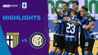 Parma 1-2 Inter Milan   Serie A 19/20 Match Highlights