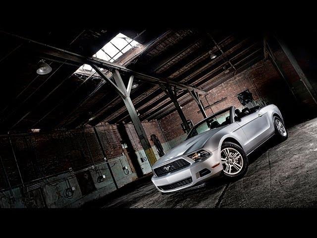 light a muscle car