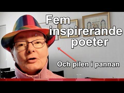 Fem inspirerande poeter – Poetpodden trailer avsnitt 53