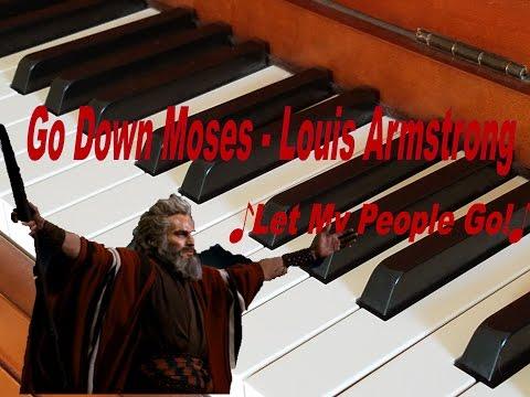 Go Down Moses -  Louis Armstrong - Kurgan 360 (Piano Cover)
