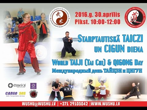 World taichi & Qigong day in RIGA