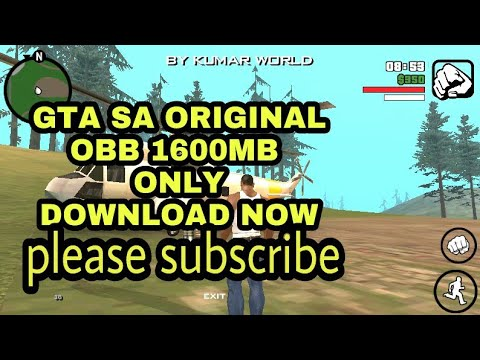 download gta sa apk and obb highly compressed