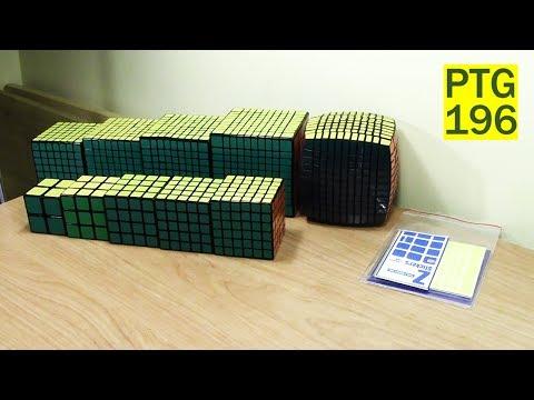 unboxing and impressions of the shengshou 10x10 cube asurekazani. Black Bedroom Furniture Sets. Home Design Ideas