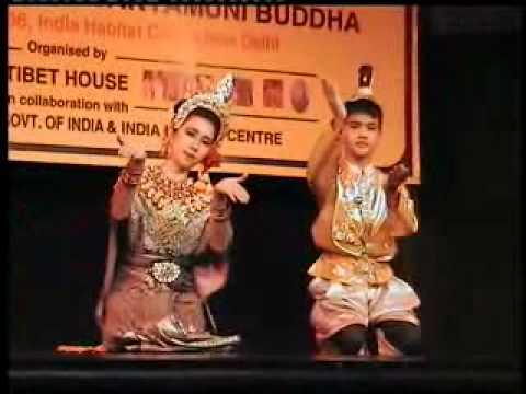 RUPATUNGA KANDYAN DANCE DELHI 2006 -1.flv