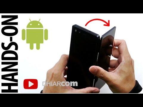 Android 2 Layar Lipat Pertama Di Indonesia