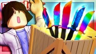Roblox Adventures - UNBOXING 10 LEGENDARIES! (Murder Mystery 2)