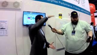 VMworld 2014 - Simplivity CEO Doron Kempel interview