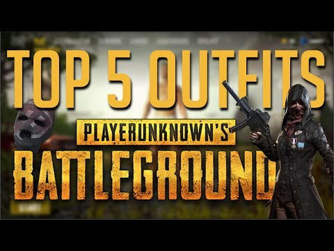 PUBG - TOP 5 CHEAP AND GOOD LOOKING OUTFITS (CLOTHES) IN PUBG  [PLAYERUNKOWN'S BATTLEGROUNDS]
