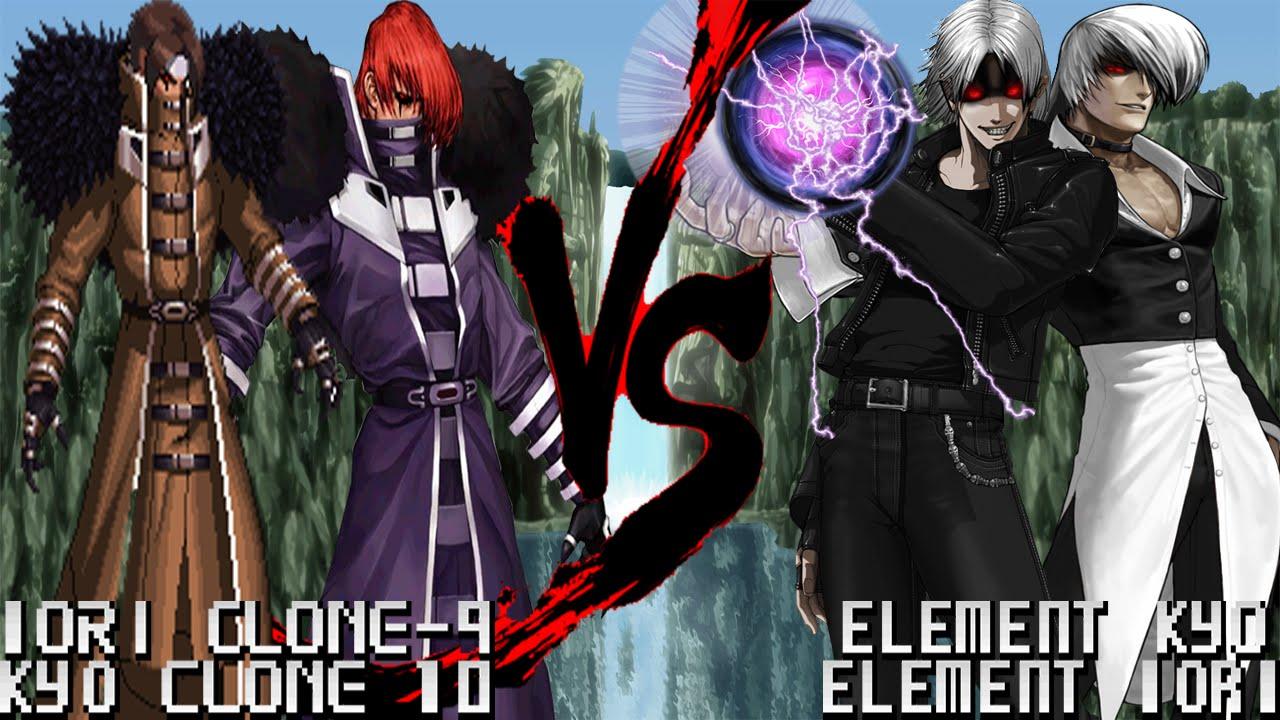 Iori Yagami Wallpaper 3d Mugen 1 1 Hd Iori Clone 9 Kyo Clone 10 Vs Element Kyo