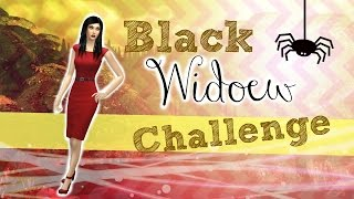 "Lets Play The Sims 4  Black Widow Challenge Episode 9 ""Ghost from the Past! Ahhh!"""