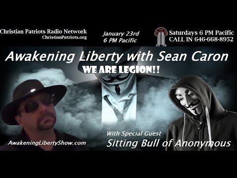 Anonymous, We Are Legion Interview on Awakening Liberty