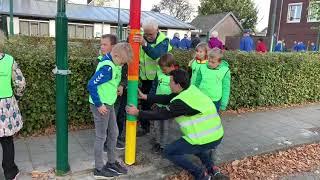 Lantaarnpalen krijgen tweede leven in Lieshout