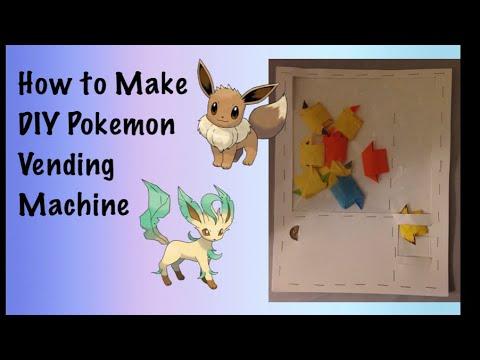 How to Make DIY Pokemon Vending Machine