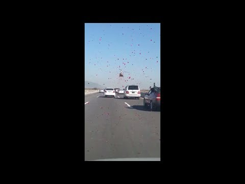 See what this helicopter does on Nawaz Sharif's motorcade