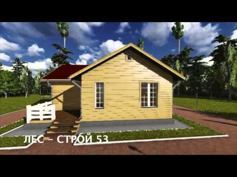 Сборные быстровозводимые каркасные дома и здания