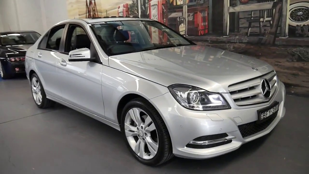 Mercedes Benz C200 2013 with only 19,900 klms since new ...