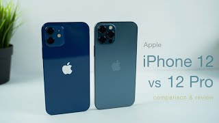 iPhone 12 vs 12 Pro | In Depth Review (vs 11 + 11 Pro)