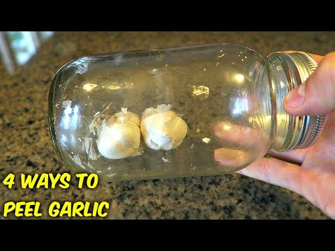 4 Ways to Peel Garlic