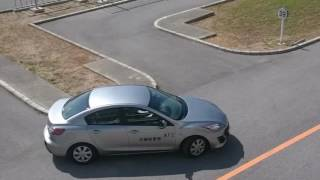 普通AT仮免許 一発試験 合格動画(沖縄県警察運転免許センター・3コース)