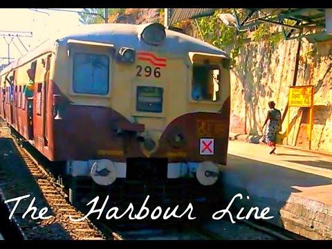 Mumbai Suburban Railway : The Harbour Line (Bandra to CST) Motor Coach Ride.