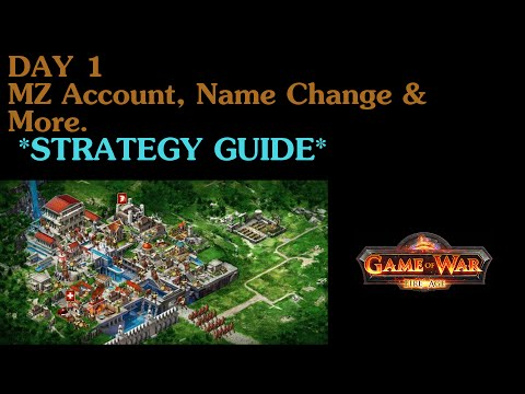 Beginner Strategy - Game of War Fire Age - Day 1 - HD Gameplay