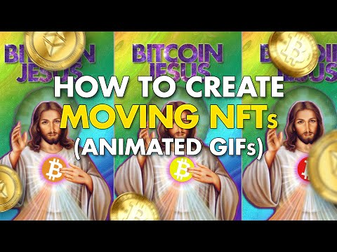 How to Create Animated NFT Art   Moving GIFs into NFTs